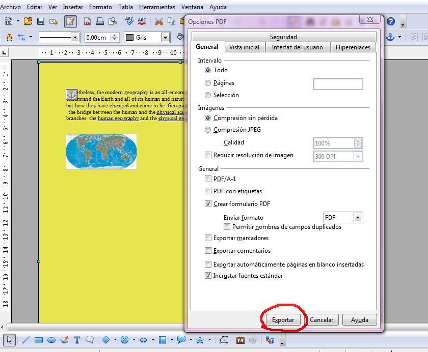 Mantener el color de fondo al pasar a PDF ( El color de la hoja y ...